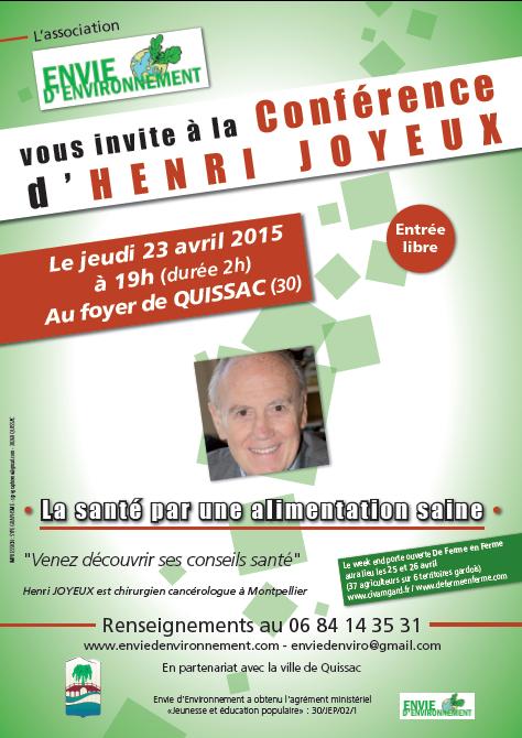 conférence H. Joyeux